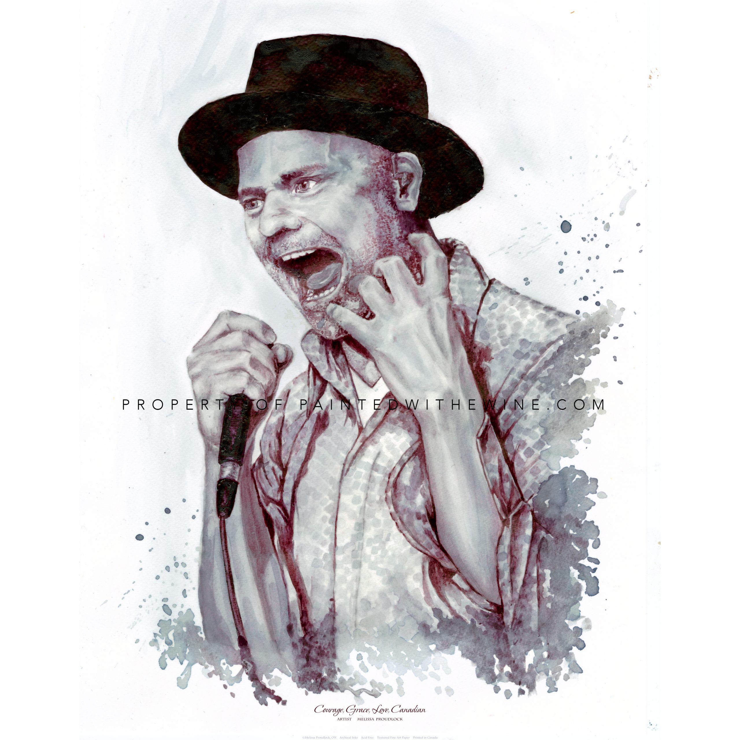Gord Downie – The Tragically Hip