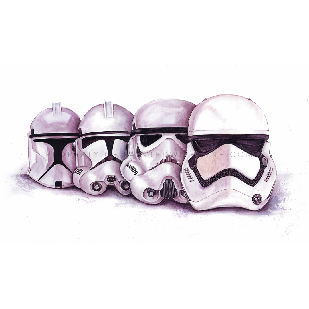 Evolution of the Stormtrooper