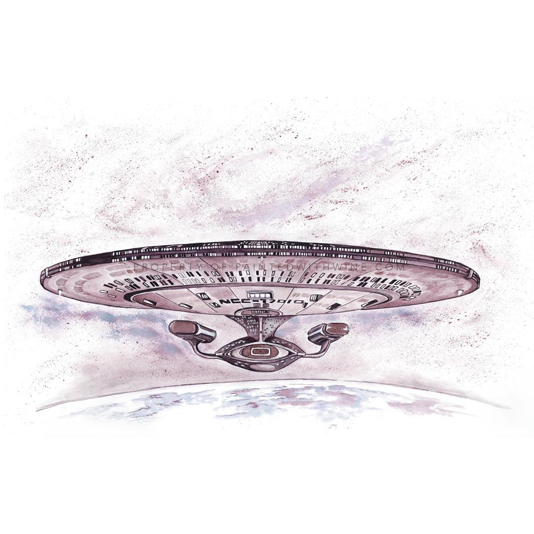 Star Trek USS Enterprise 1701 D