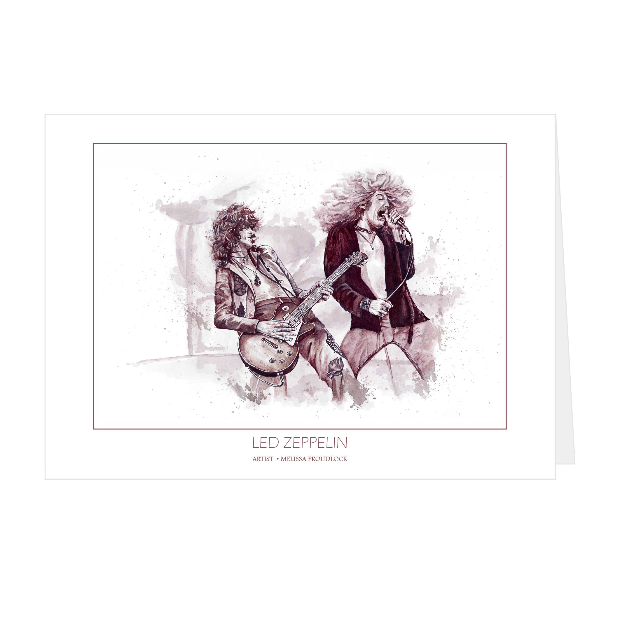 Led Zeppelin Card