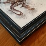 Giant Pacific Octopus – Framed Original