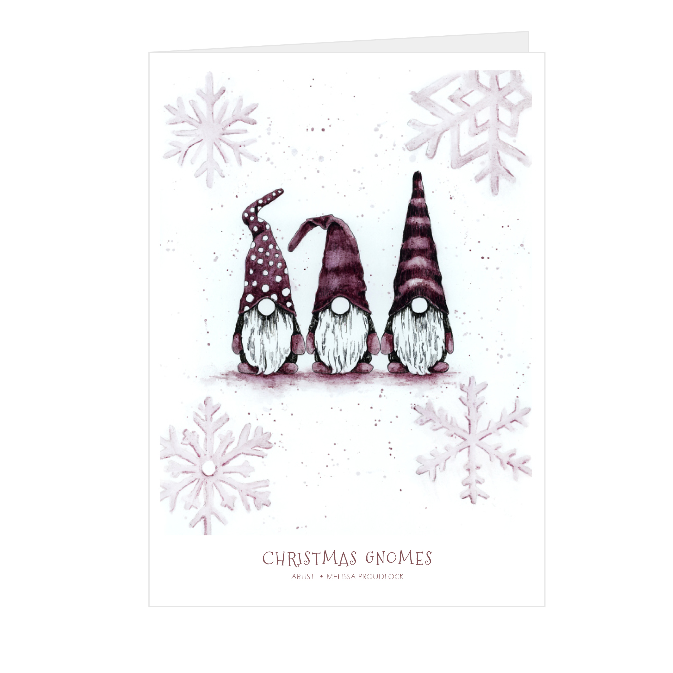 Christmas Gnomes Card