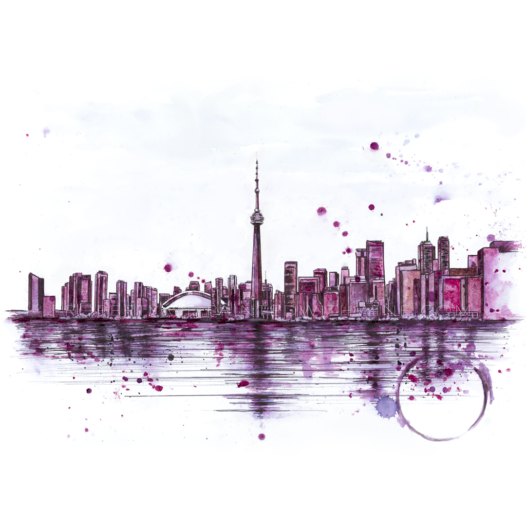 Toronto Skyline Canvas