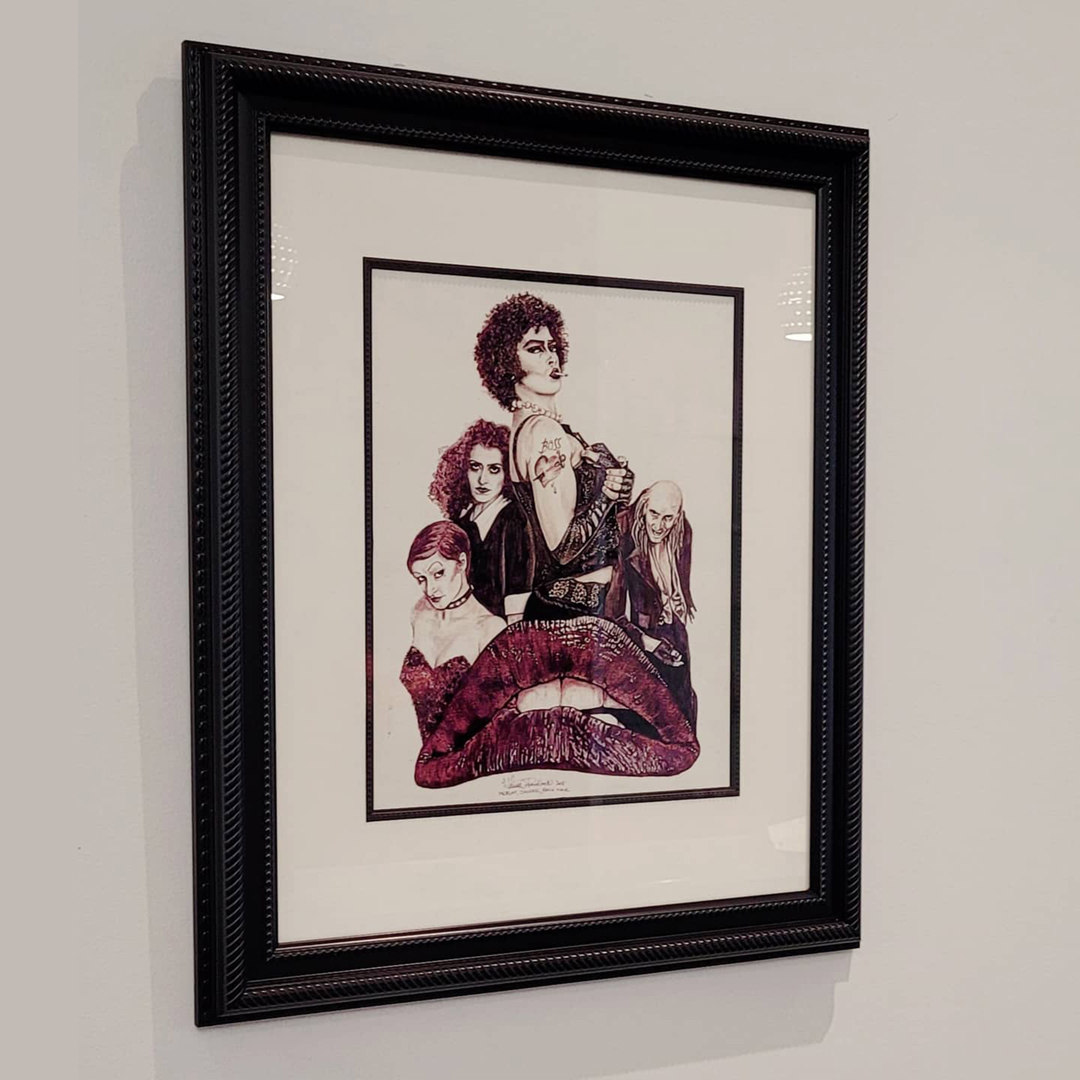 Rocky Horror Picture Show – Framed Original