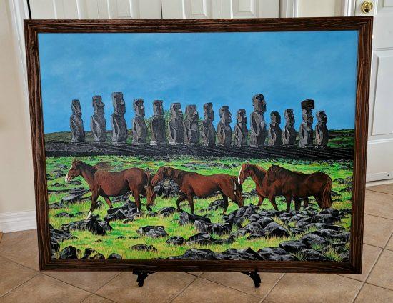 Framed-EasterIsland